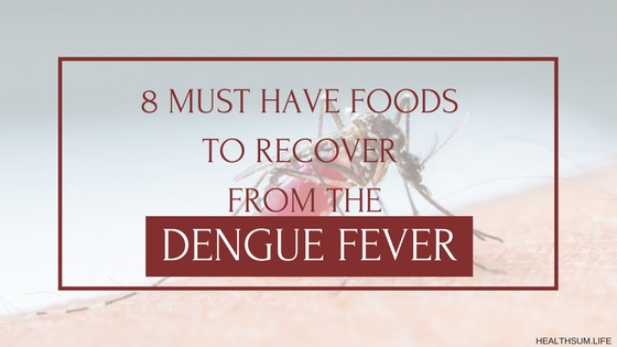 8 must have foods to recover from dengue fever