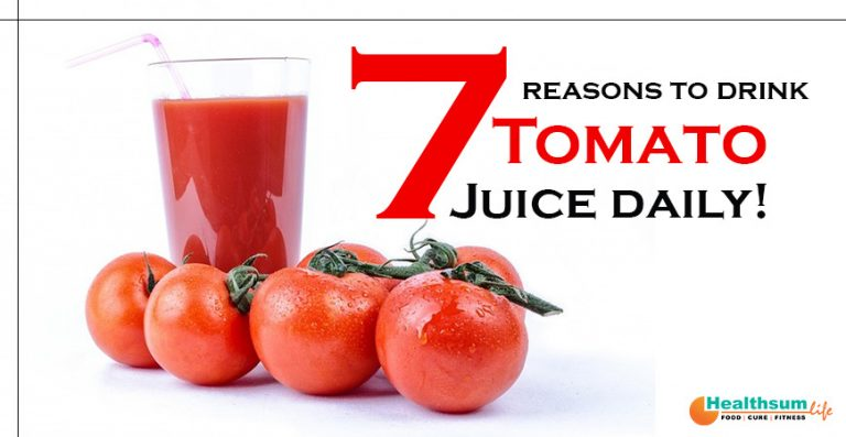 Reasons to drink tomato juice daily