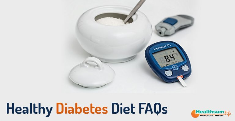 Healthy Diabetes Diet FAQs