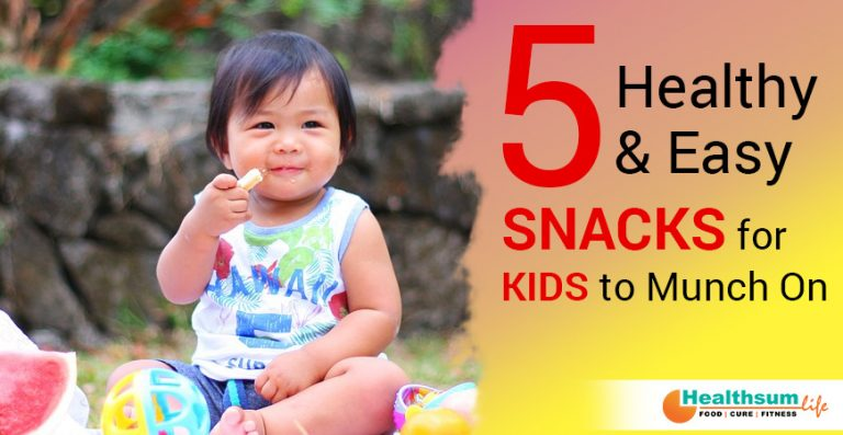 5 healthy and easy snack ideas for kids