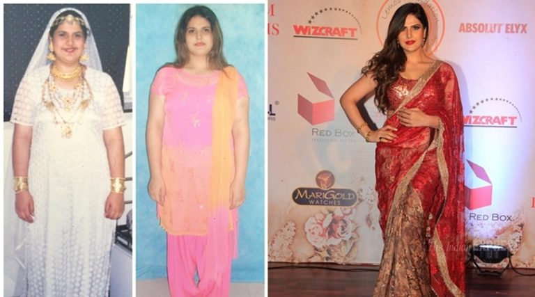 Zareen Khan's inspiring weight loss story
