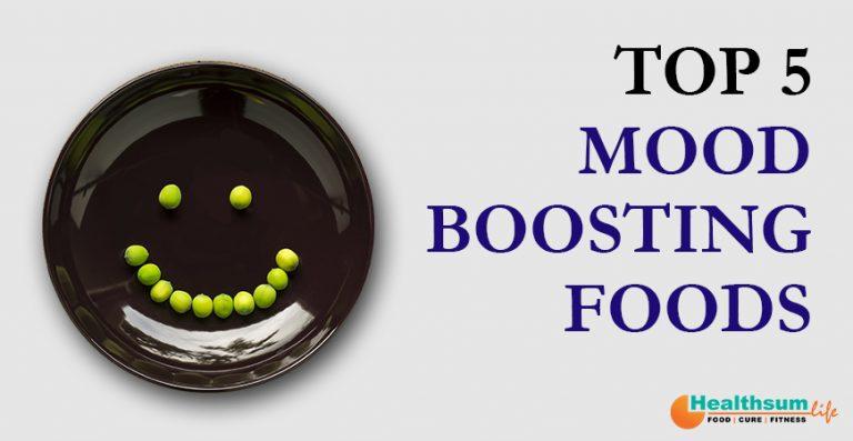 top 5 mood boosting foods