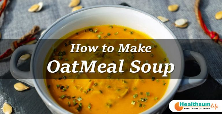 Oatmeal soup recipe