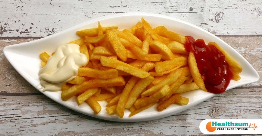 French Fries is bad for depression