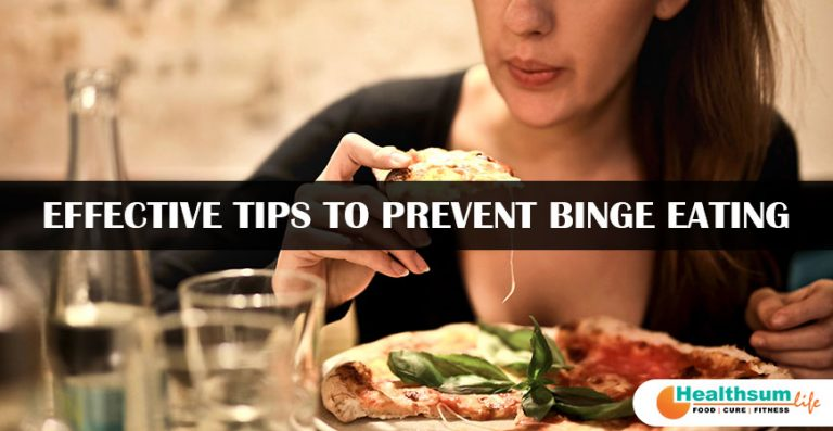 Effective tips to prevent Binge Eating