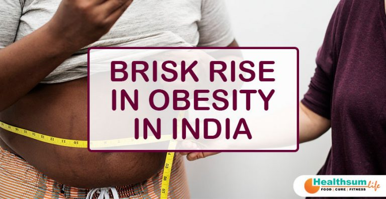 Brisk Rise in Obesity in India