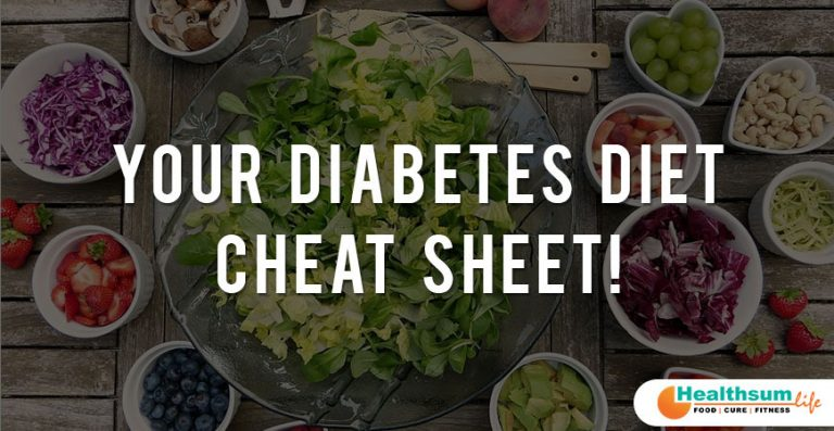Your Diabetes Diet Cheat Sheet!
